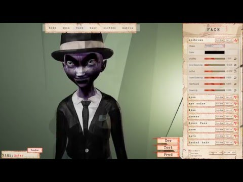 Creating my own race in Traverse MMO Sandbox Voxel Game