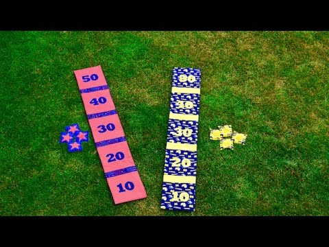 Flip and Stitch Bean Bag Toss Game Tutorial