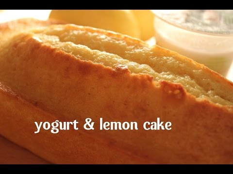 YOGHURT & LEMON CAKE BY SPANISH COOKING