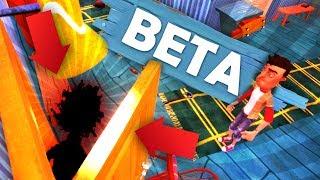 HELLO NEIGHBOR SECRET BETA UPDATE!!! (Hello Neighbor Beta / Hello Neighbour Gameplay)
