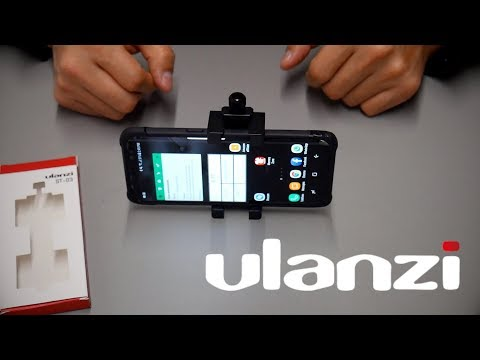 Ulanzi smartphone adapter for YouTube videos ST 03