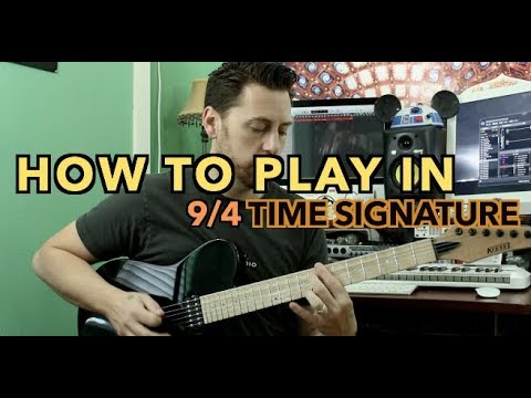 How To Play in 9/4 Time Signature