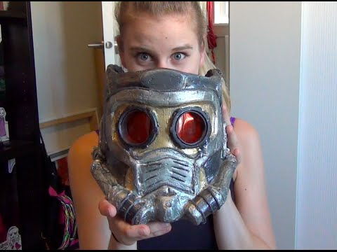 Guardians of the Galaxy, Starlord Mask DIY COSPLAY