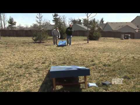 Cornhole (bean bag toss game) | Kentucky Life | KET