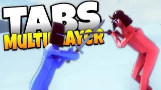 TABS Multiplayer! - Blitz Vs. Baron! - Totally Accurate Battle Simulator Multiplayer Gameplay