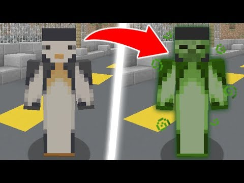 MINECRAFT HIDE AND SEEK WITH POISON POTIONS!
