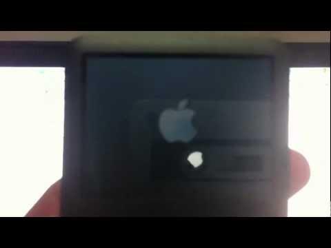Problema con iPod, se queda en: