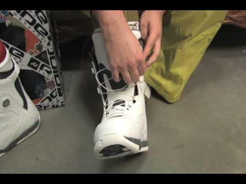 Snowboard Boot Lacing Guide - Ride Lock Down Lacing