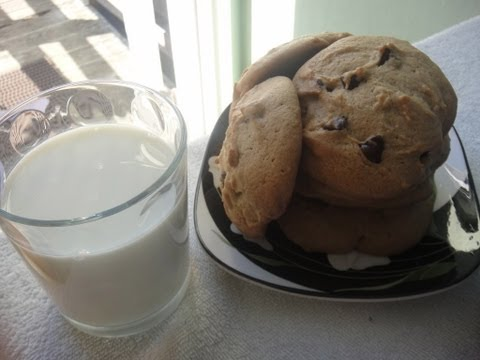 How to make Thick and Chewy Chocolate Chip Cookies Recipe - 朱古力曲奇