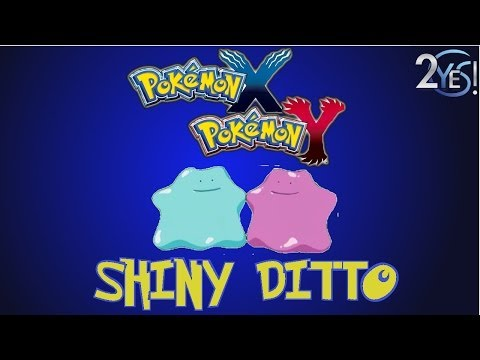 Pokemon X & Y - Shiny Ditto w/ T-Rexed