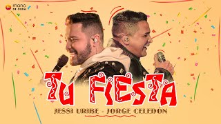Jessi Uribe, Jorge Celedón - Tu Fiesta l Video Oficial