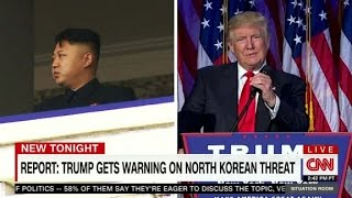 Warning for Trump: North Korea challenge