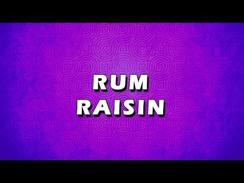 RUM RAISIN | EASY TO LEARN | EASY RECIPES