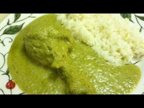 Receta de mole verde oaxaqueño / Oaxacan mole verde recipe