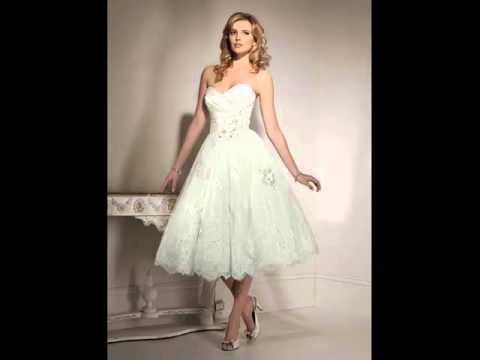 Tea Length Tulle Wedding Dress | Popular Picture Combination Of Tutu Dress Romance