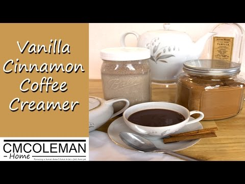 How To Make Vanilla Cinnamon Coffee Creamer