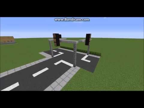 How to make a traffic light in Minecraft