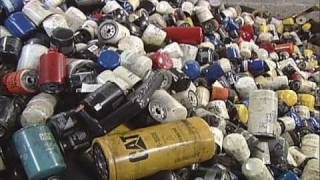 Oil filter recycling by Lucas Lane Inc.