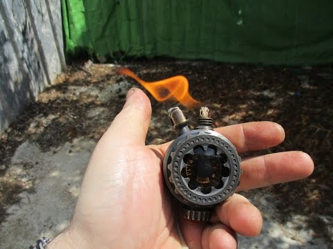 Steampunk lighter DIY(time lapse build)