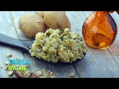 Potato Khichdi , Faral Aloo Khichdi by Tarla Dalal