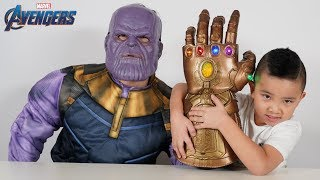 Download REAL Avengers Infinity Gauntlet From Thanos To CKN Toys Video