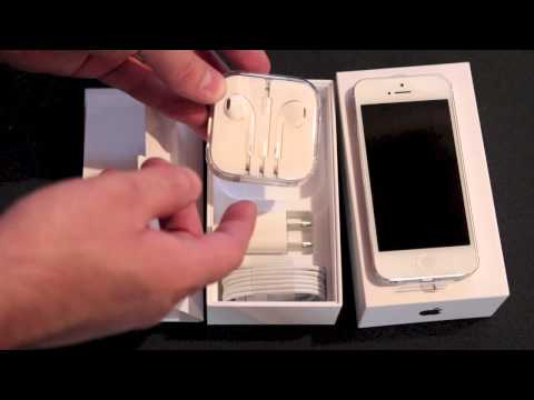 Factory Unlocked iPhone 5 Unboxing