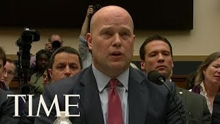 Download Acting AG Matthew Whitaker Denies He Talked To Trump About The Mueller Investigation | TIME Video