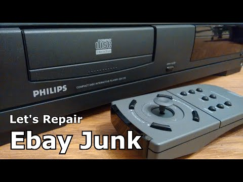Let's Repair - Ebay Junk - Philips CD-i - Dodgy Drive - Part 1