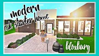 Roblox Bloxburg Modern Aesthetic 25k Starter Home