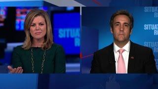 Michael Cohen denies Trump campaign shake-up