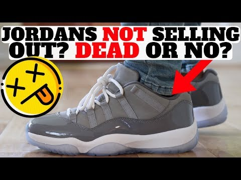Jordans NOT Selling Out Again? Air Jordan 11 Low Dead?