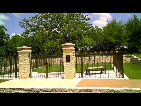 President George HW Bush, & Barbara Bush future burial site