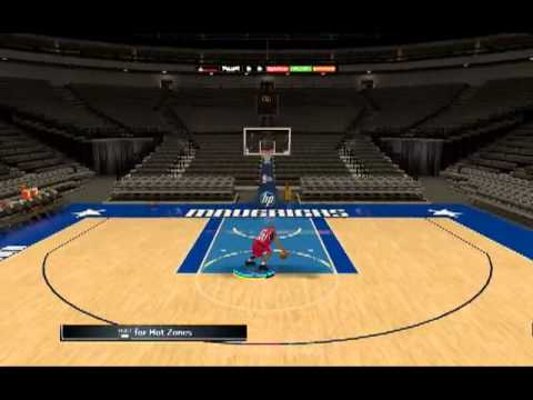 NBA 2K12 Michael Jordan Shootaround