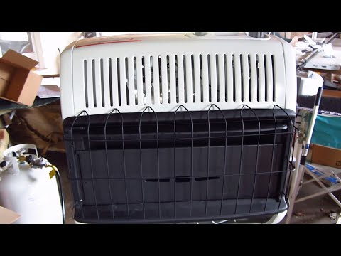 Mr.Heater Blue Flame Vent Free Heater (LP) Review
