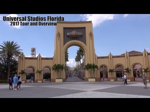 Universal Studios Florida 2017 Tour and Overview   Universal Orlando Resort Florida