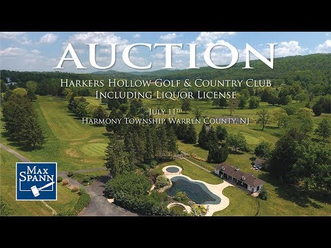 176.7+/- Acre Golf Course in Harmony Township, NJ AUCTION