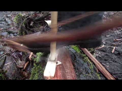 Damp Wood Bow Drill in Real Time