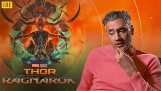 Hilarious Taika Waititi interview on Thor: Ragnarok, Star Wars and more