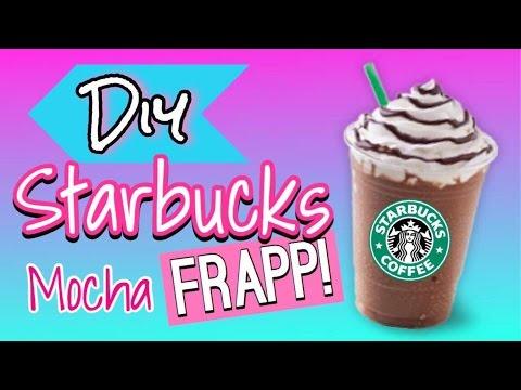 Starbucks Mocha Frappuccino Recipe!