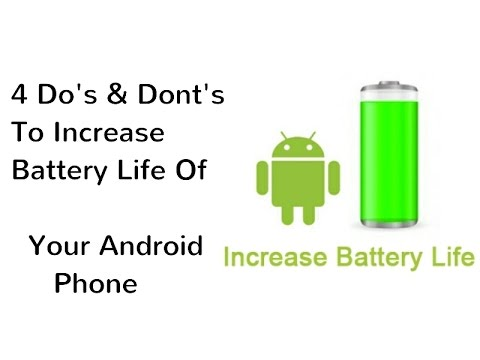 How To Fix Battery Drain Issue In Android (March 2017)