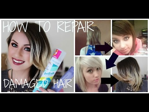How I Repaired My Damaged Bleached Hair (& How i Cut My Hair)