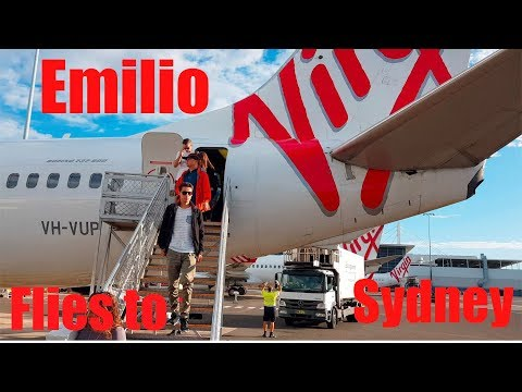 EMILIO flies to Sydney to buy a fast zippy new car