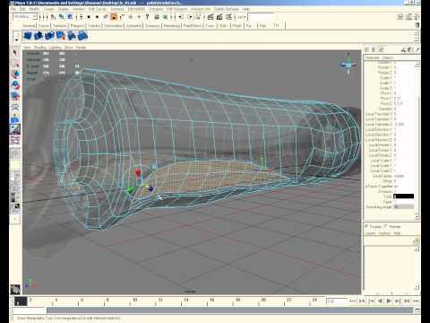 Light Saber Modeling in Maya 3d Part 3