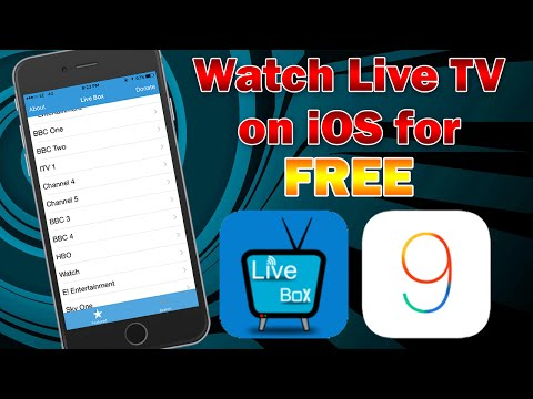 How to Watch Live Cable TV for Free on iPhone, iPod touch or iPad