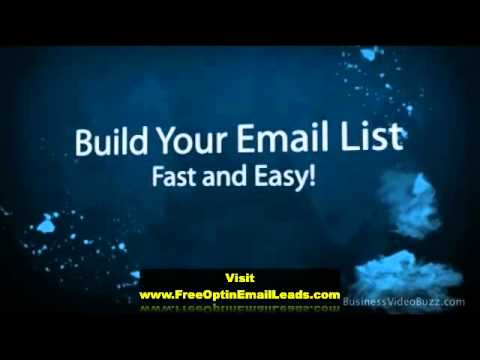 Free Email Lists For Marketing Download