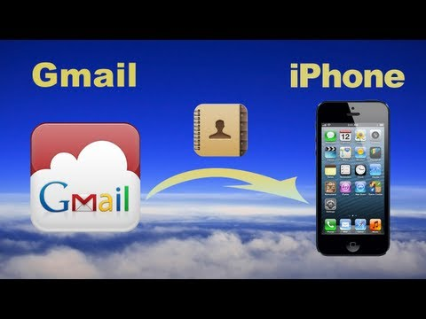Sync Gmail Contacts: How to import Google contacts to iPhone 6/5S/5C or iphone contacts to gmail