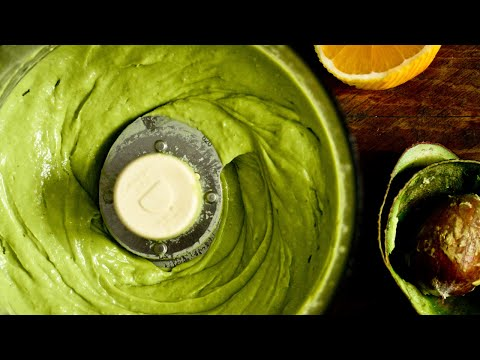 Easy Avocado Lime Salad Dressing (Healthy, Oil-Free, Vegan, RawTill4)