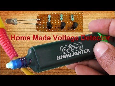 Home Made Voltage Detector/Tester (Non Contact)