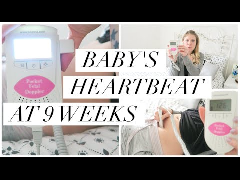 How to find your baby's heartbeat early with a fetal doppler!!