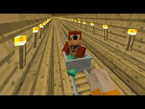 Minecraft Xbox - Tree Train [122]